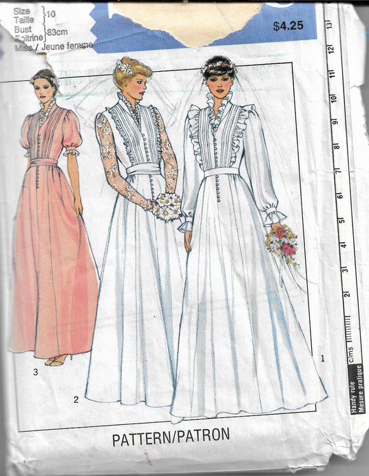 wedding dress pattern style 3570