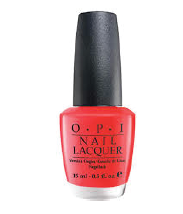 OPI Red Nail Polish