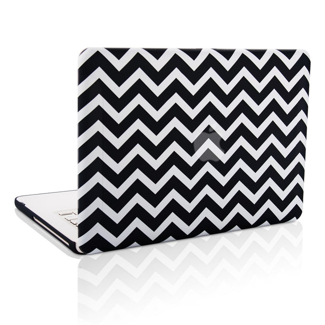 Macbook White-Chevron Case