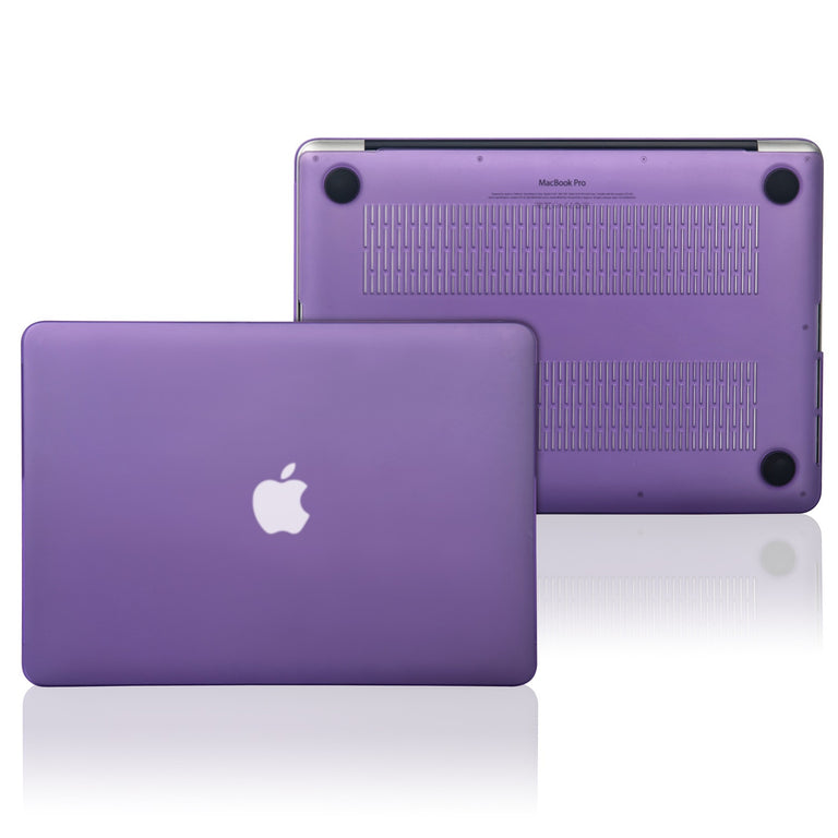 "TOP CASE - 2 in 1 MacBook Pro RETINA 15""  Hard Cover + Keyboard Skin - PURPLE"