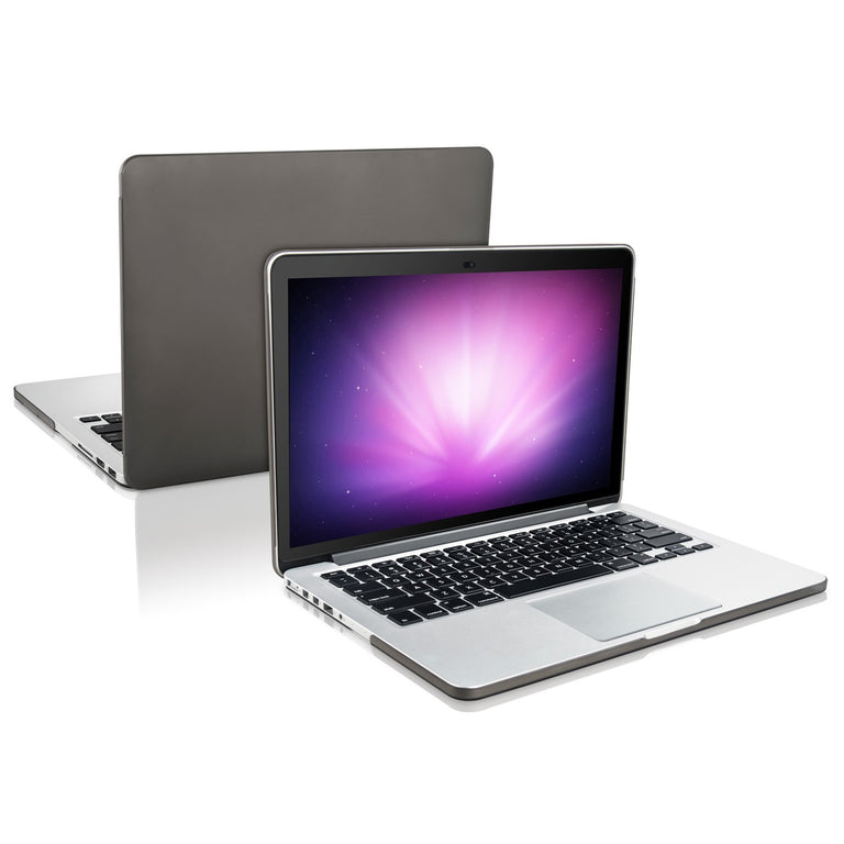 "TOP CASE - 2 in 1 MacBook Pro RETINA 15"" Hard Cover + Keyboard Skin - GREY"