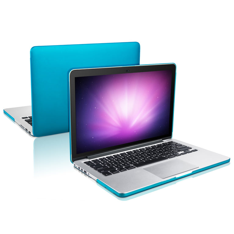 "TOP CASE - 2 in 1 MacBook Pro RETINA 15""  Hard Cover + Keyboard Skin - AQUA BLUE"