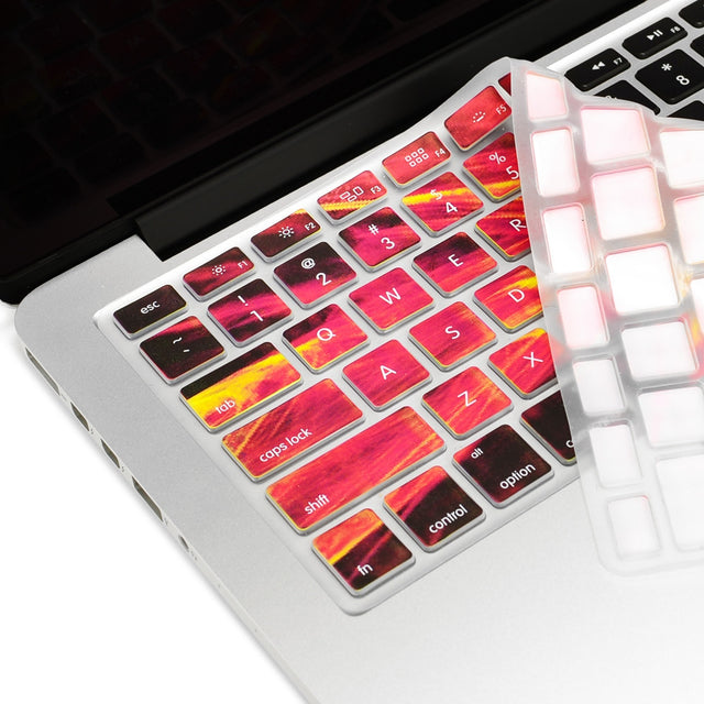 "Galaxy Ultra Thin Soft Silicone Keyboard Cover Skin for Macbook 13"" 15"" 17"" - TOP CASE"