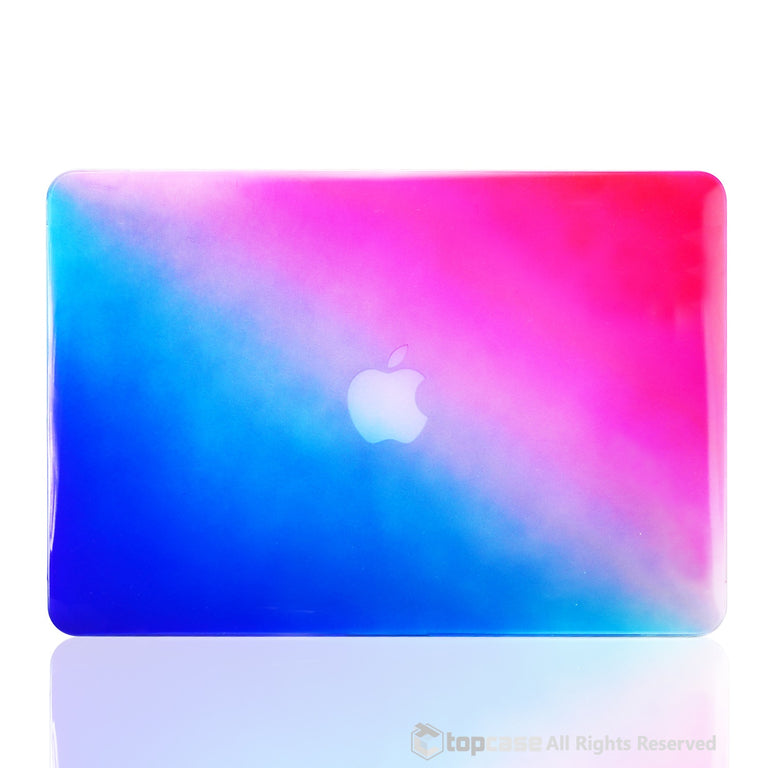 "Faded Ombre Blue & Hot Pink UV High Glossy Hard Case for MacBook Air 13"" - TOP CASE"