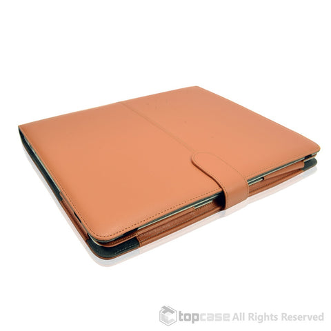 "Leather Case Brown Cover Bag for Apple Macbook PRO 13"" A1278 - TOP CASE"