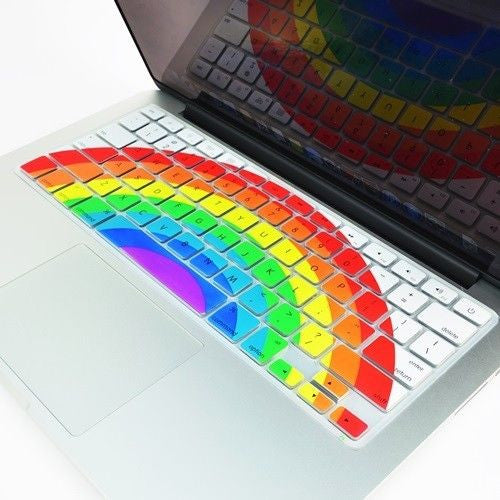 "Rainbow Arch Keyboard Cover for Macbook 13"" 15"" 17"""