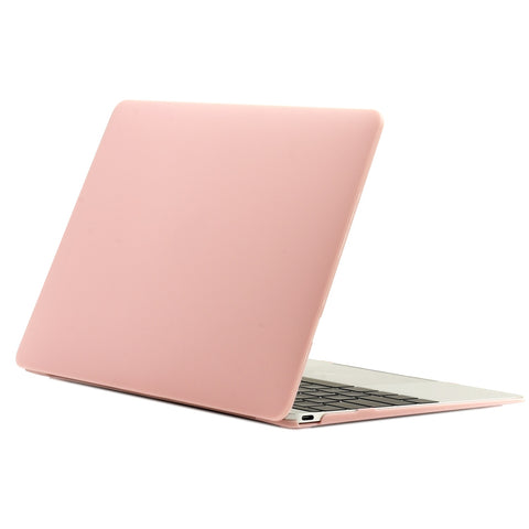 "Apple the MacBook 12-Inch 12"" Retina Display Laptop MacBook Rubberized Hard Shell Case Cover for Model A1534 (Release 2015) - Rose Quartz"