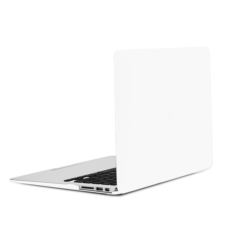 "TOP CASE 2 in 1 - Macbook Air 13"" Rubberized Case Cover + Keyboard Cover - White"