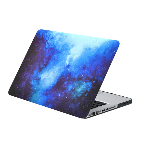 "Blue Galaxy Graphic Rubberized Hard Case for MacBook Pro 13"" Model A1278"