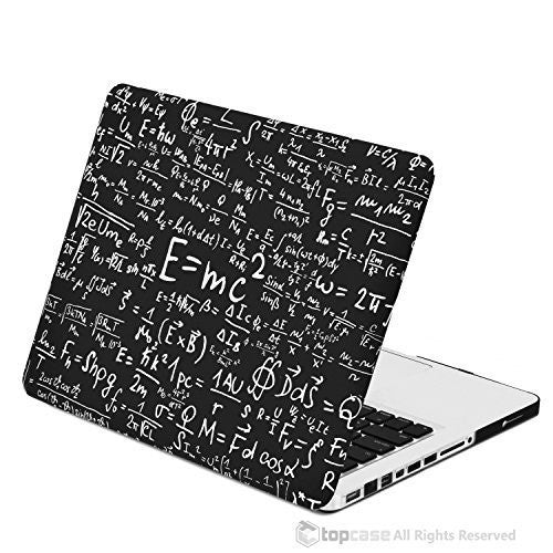 "Black Physics Formulas Rubberized Hard Case for MacBook Pro 13"" with Retina Display Model A1425 / A1502 - TOP CASE"
