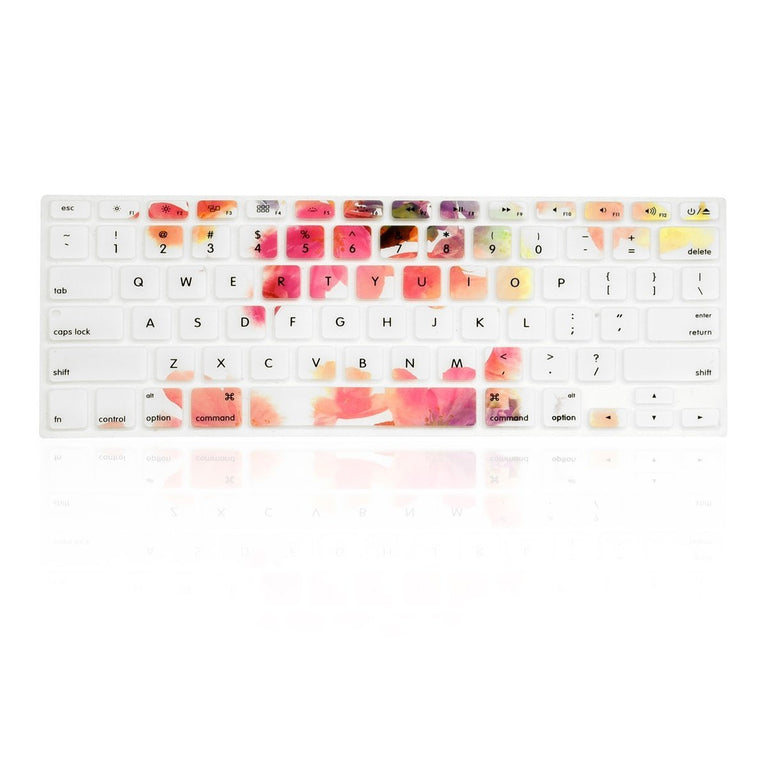 "Violet Reflection Ultra Thin Soft Silicone Keyboard Skin for Old Generation Macbook 13"" 15"" 17"""