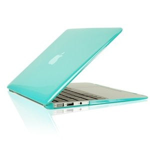 "TOP CASE 5 in 1 – Macbook Air 13"" Crystal Case + Sleeve + Mouse + Keyboard Skin + LCD - HOT BLUE"