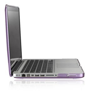 "Purple Crystal Hard Case Cover for Apple Macbook PRO13"" 13.3 ( A1278 )"
