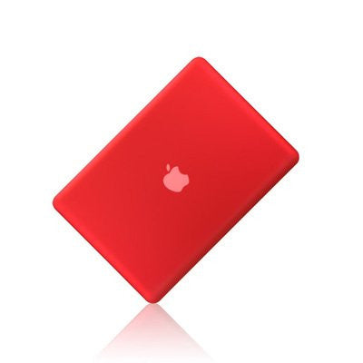 "Red Rubberized Hard Case Cover for Apple Macbook PRO 13"" 13.3 (A1278)"