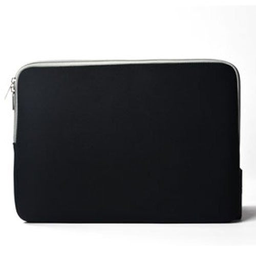 "Zipper Sleeve Black Bag Case Cover for All Laptop 15"" Macbook or Laptop with Similar Demensions"