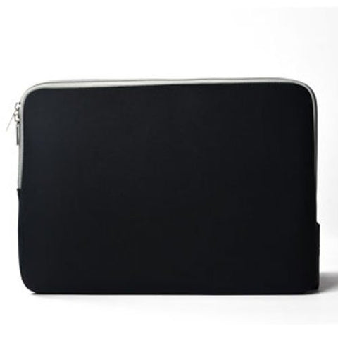"Zipper Sleeve Black Bag Case Cover for All Laptop 13"" Macbook or Laptop with Similar Demensions"