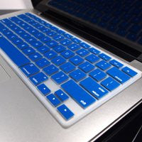 "TOP CASE 4 in 1 - Macbook Pro 13"" Matte Case + Sleeve + Keyboard Skin + LCD - ROYAL BLUE"
