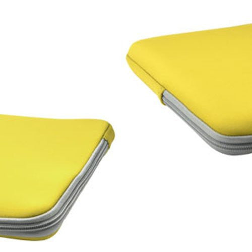 "Zipper Sleeve Yellow Bag Case Cover for All Laptop 15"" Macbook  or Laptop with Similar Demensions"