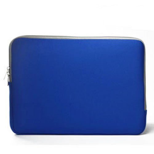 "Zipper Sleeve Royal Blue Bag Case Cover for All Laptop 13"" Macbook / Pro / Air"