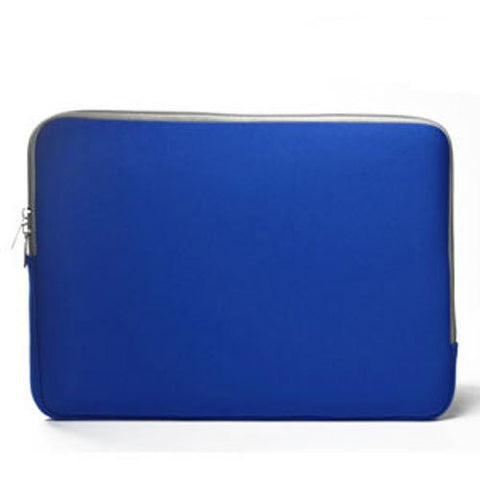 "Zipper Sleeve Royal Blue Bag Case Cover for All Laptop 15"" or Laptop with Similar Demensions"