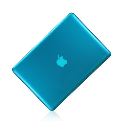 "Aqua Blue Crystal Hard Case Cover for Apple Macbook PRO13"" 13.3 ( A1278 ) - TOP CASE"