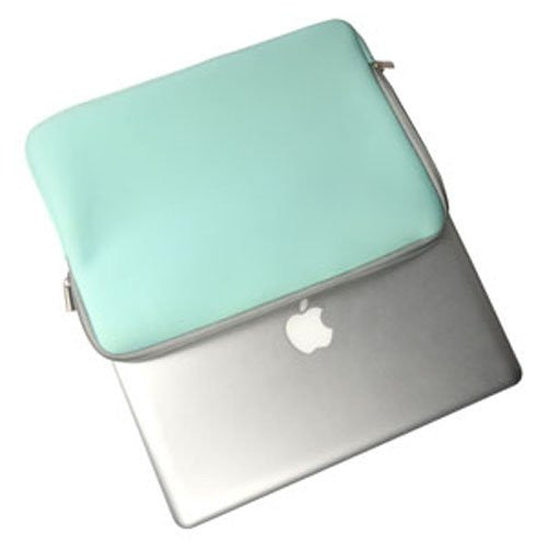 "Zipper Sleeve HOT BLUE Bag Case Cover for All Laptop 11"" Macbook or Laptop with Similar Demensions"