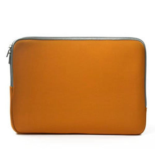 "Zipper Orange Sleeve Bag Case Cover for All Laptop 15"" Macbook Pro with Similar Demensions"