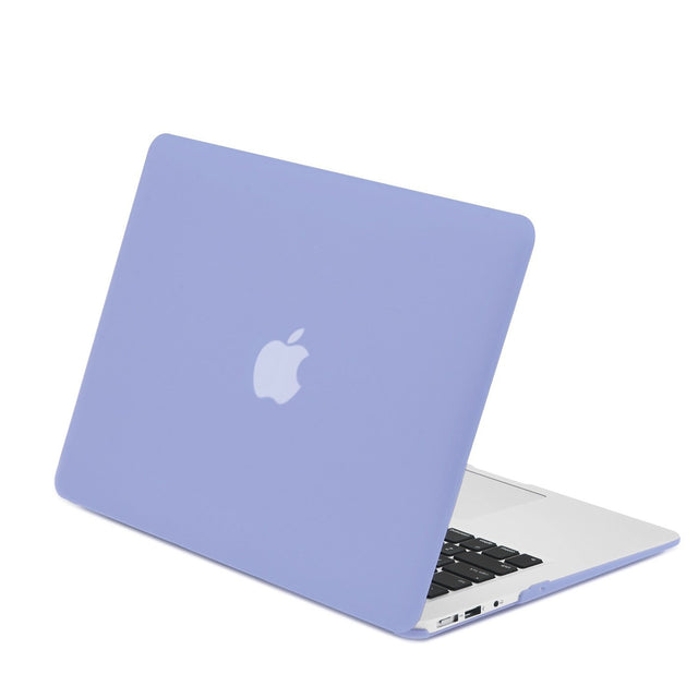 "Rubberized Serenity Blue Hard Case for Macbook Air 13"" A1369 and A1466"
