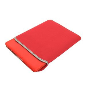 "TOP CASE 5 in 1 – Macbook Pro 13"" Crystal Case + Sleeve + Mouse + Keyboard Skin + LCD - Red"