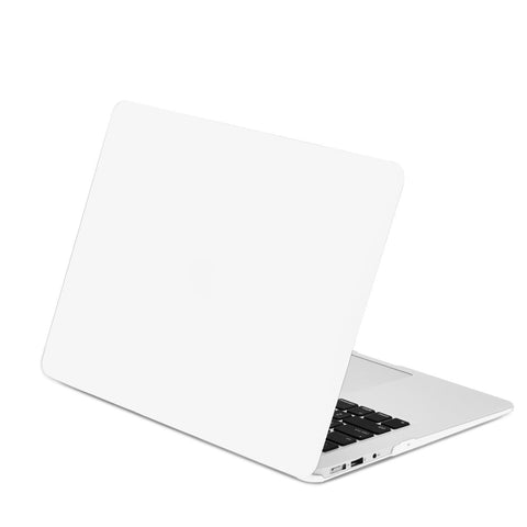 "Rubberized Satin White Hard Case for Macbook Air 13"" A1369 and A1466"