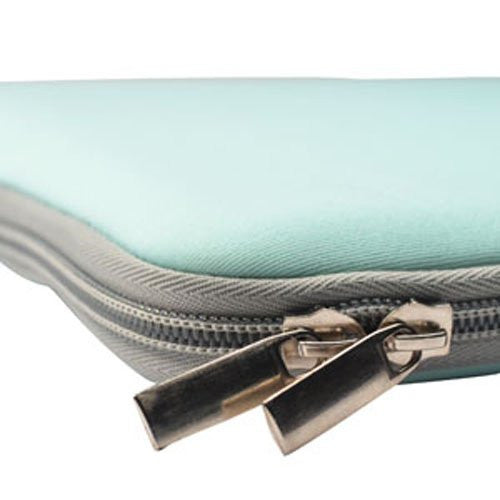 "Zipper Sleeve HOT BLUE Bag Case Cover for All Laptop 15"" Macbook or Laptop with Similar Demensions"