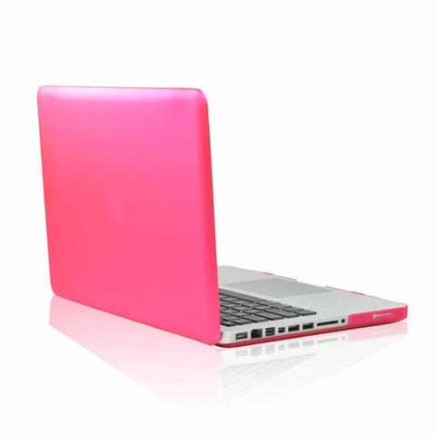 "Rubberized HOT PINK Hard Case Cover for Apple Macbook PRO 15"" (A1286)"