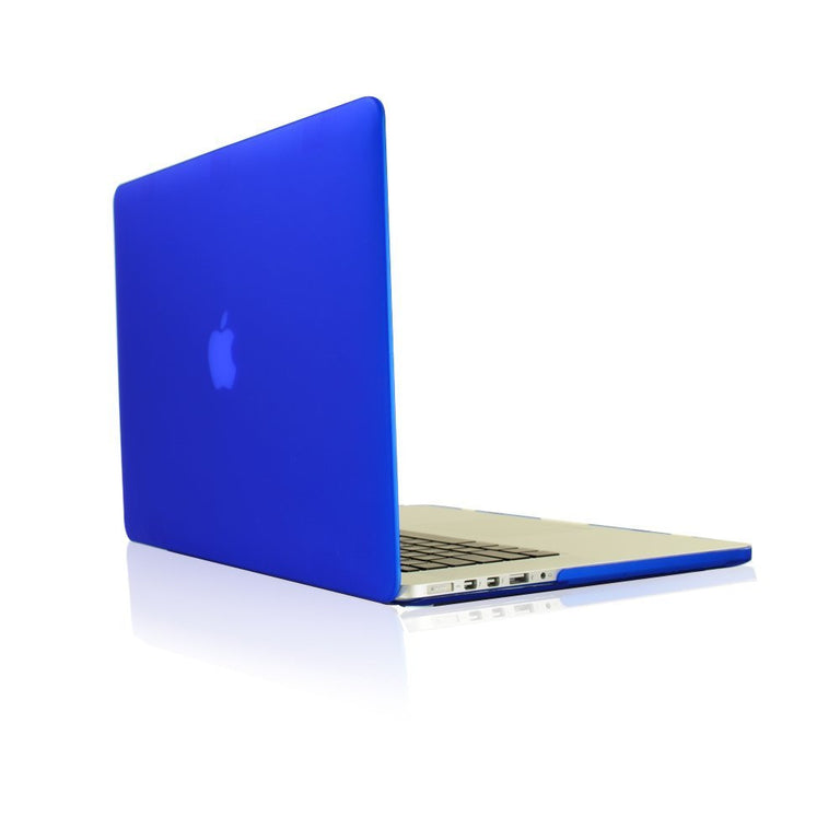 "TOP CASE 4 in 1 – Macbook Retina 15"" Rubberized Case + Sleeve + Keyboard Skin + LCD - Royal Blue"