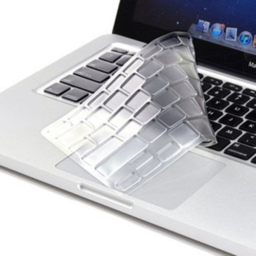 "TOP CASE TPU CLEAR Silicone Keyboard Cover Skin for All Macbook 13"" 15"" 17"""
