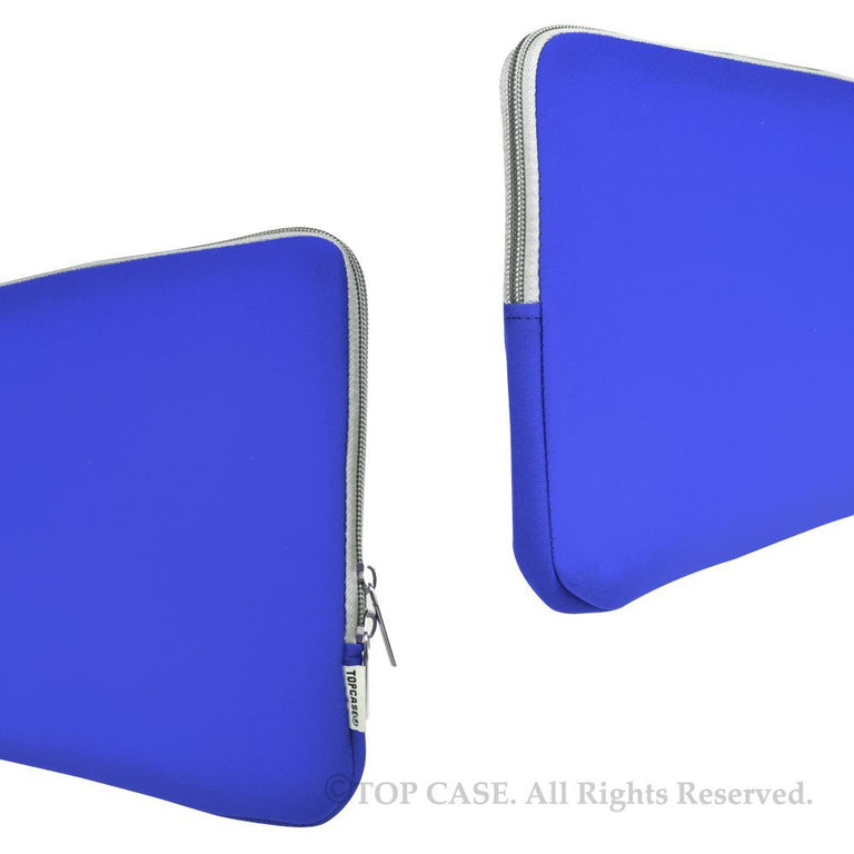 "Zipper Royal Blue Sleeve Bag Cover for Macbook 12"" 12-Inch Model: A1534 Retina Noteboook"