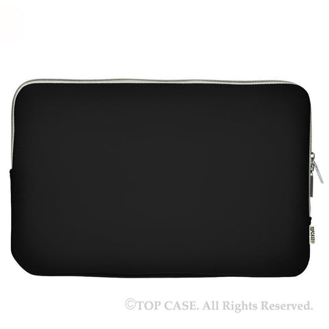 "Zipper Black Sleeve Bag Cover for Macbook 12"" 12-Inch Model: A1534 Retina Noteboook"