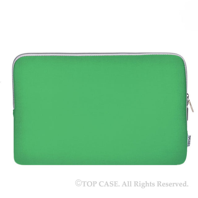 "Zipper Green Sleeve Bag Cover for Macbook 12"" 12-Inch Model: A1534 Retina Noteboook"