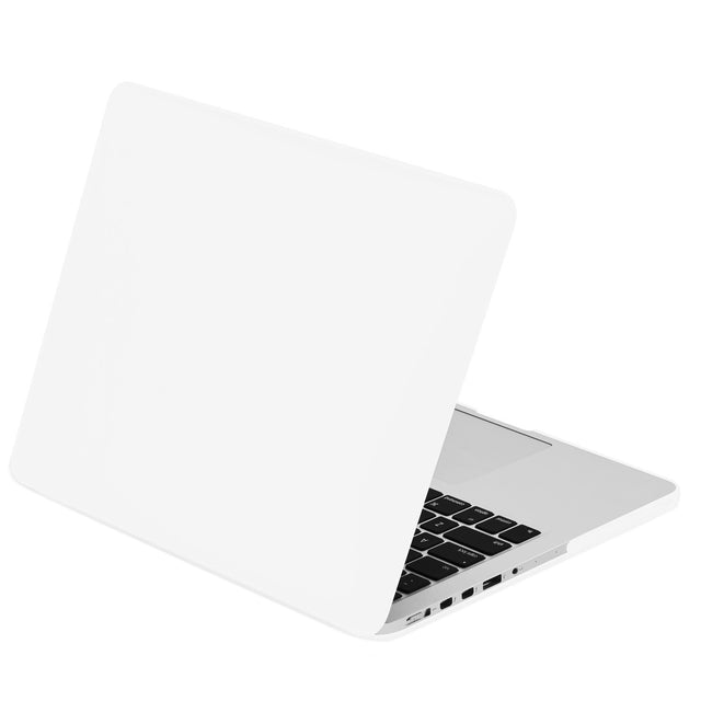 "Satin White Rubberized Case for Macbook Pro 13"" A1425/A1502 with Retina display"