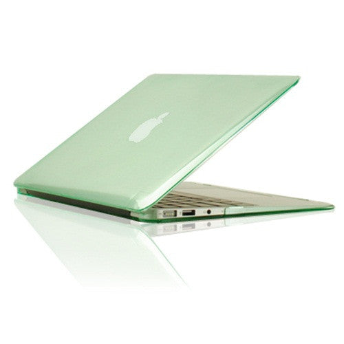 Green Crystal See Thru Hard Case Cover for Macbook Air 11 A1465/A1370 - TOP CASE