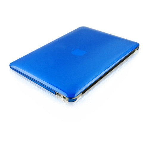 "Crystal Royal Blue Hard Case Cover for Macbook Air 13"" A1369 and A1466 - TOP CASE"