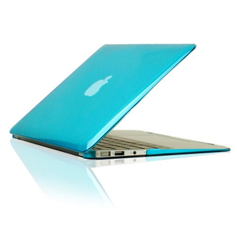 "Crystal Aqua Hard Case Cover for Macbook Air 13"" A1369 and A1466 - TOP CASE"