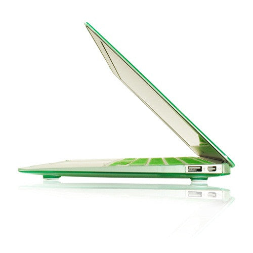 "Crystal Green Hard Case Cover for Macbook Air 13"" A1369 and A1466"