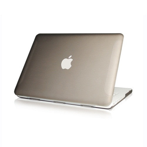 Grey Rubberized Hard Case Cover for Macbook White 13""