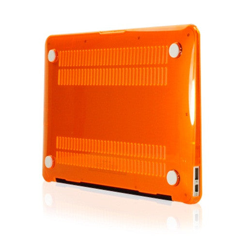 "Crystal Orange Hard Case Cover for Macbook Air 13"" A1369 and A1466"