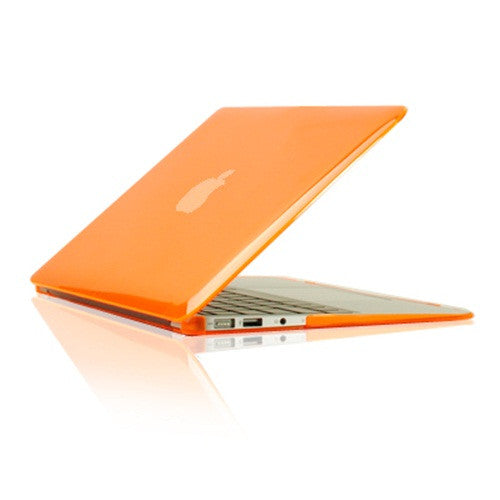 "Crystal Orange Hard Case Cover for Macbook Air 13"" A1369 and A1466 - TOP CASE"