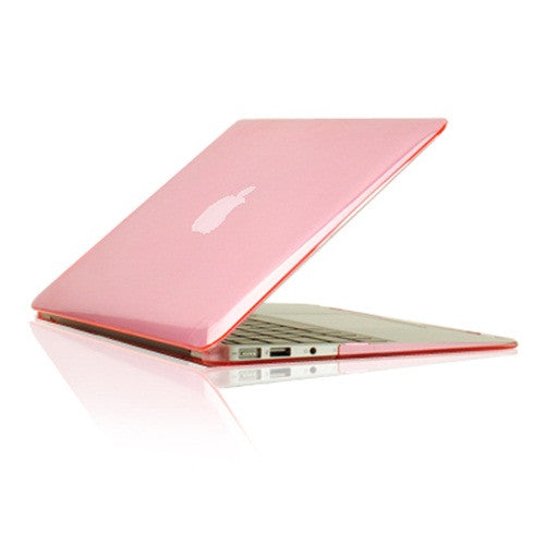 "Crystal Pink Hard Case Cover for Macbook Air 13"" A1369 and A1466 - TOP CASE"