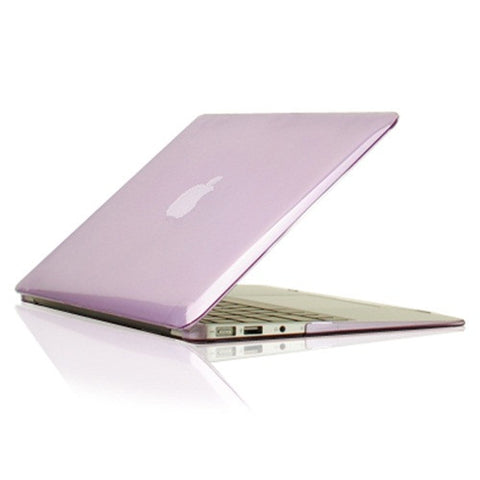 Purple Crystal See Thru Hard Case Cover for Macbook Air 11 A1465/A1370