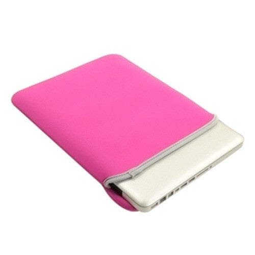 "Sleeve Bag Hot Pink Cover Case for Laptop 11"" Macbook Pro"