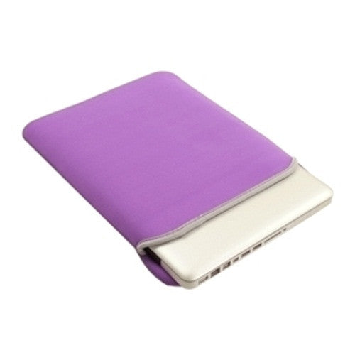 "Sleeve Bag Purple Cover Case for Laptop 13"" Macbook Pro"