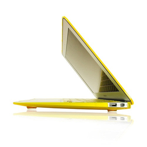 "Crystal Yellow Hard Case Cover for Macbook Air 13"" A1369 and A1466 - TOP CASE"